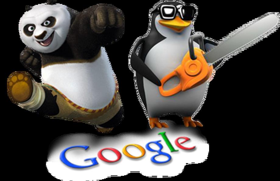 algorithmes panda et pingouin