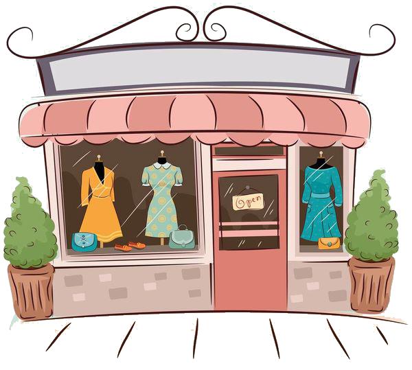 vitrine de magasin