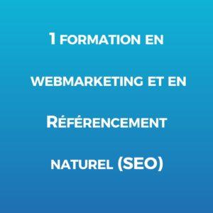 webmarketing et référencement naturel