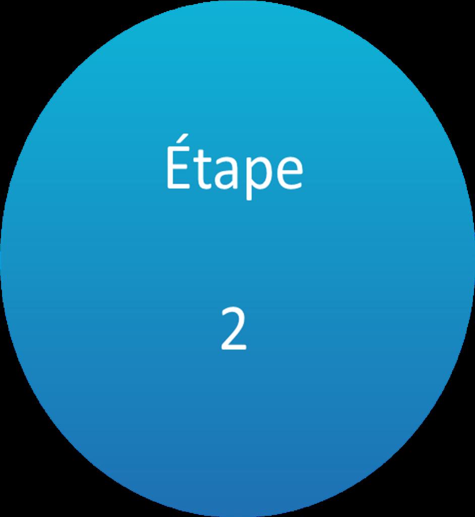 redaction etape 2